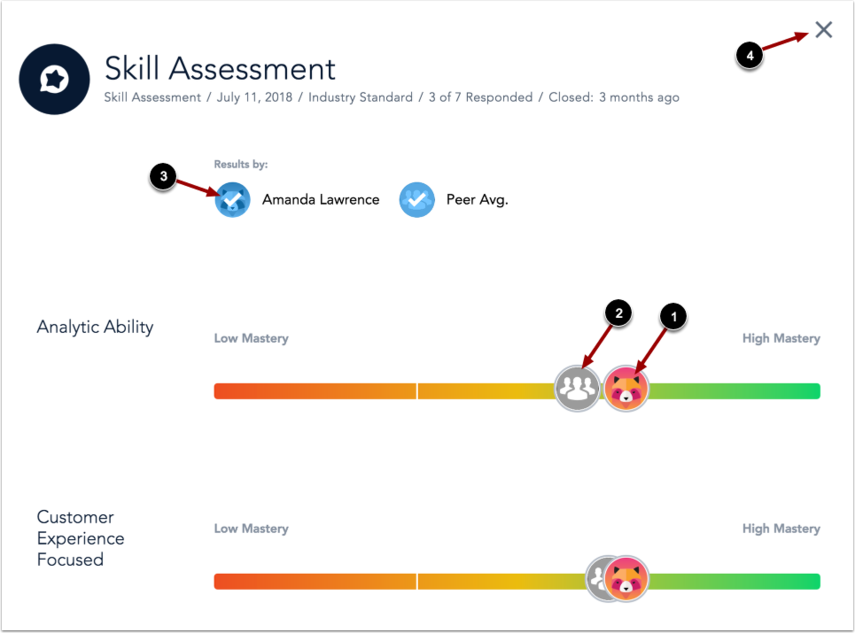 View Employee Skill Assessment