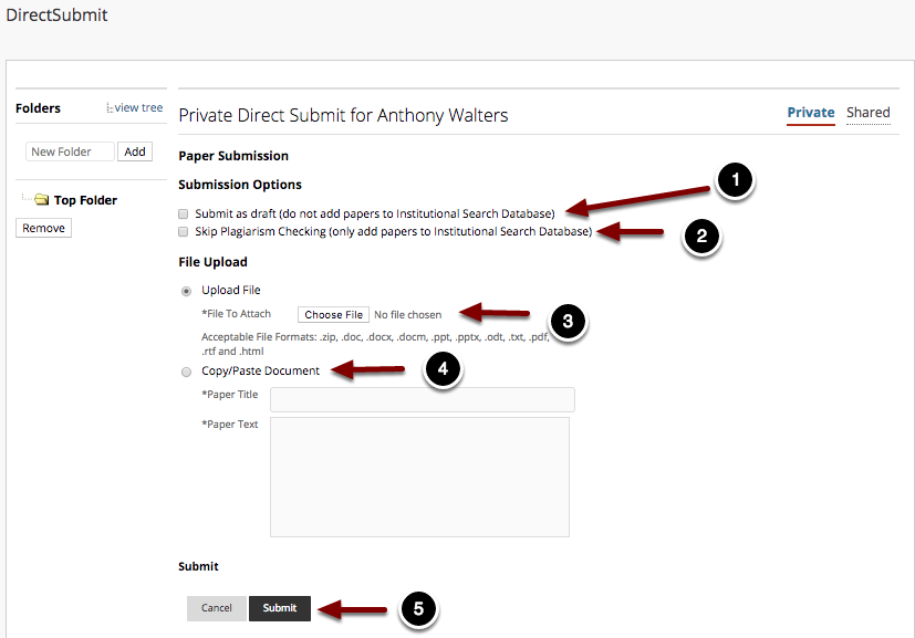 Adding files to DirectSubmit Part 2