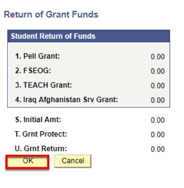 Return of Grant Funds Detail