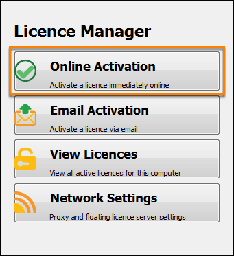 Licence Manager
