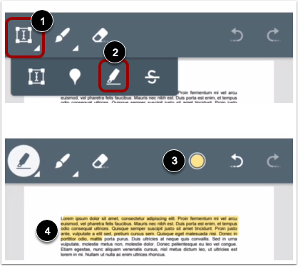 Add Highlight Annotation