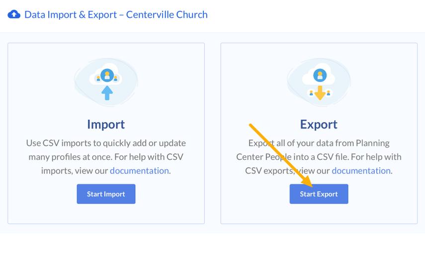 start export