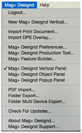 Using the PDF Import Script – Mag+ Designd Support