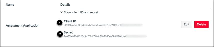 View ID and Secret Key