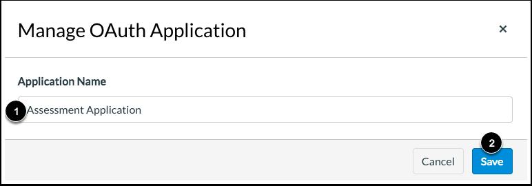 Name Application