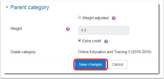 Save changes button is selected (3)