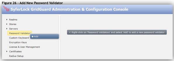 Adding a New Password Validator