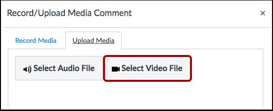 Select Video File