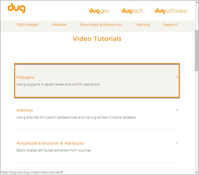 View online video tutorials