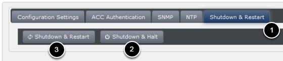 Select the 'Shutdown & Restart' option