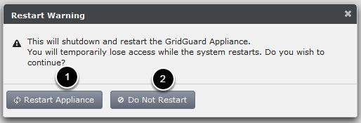 Restarting the server