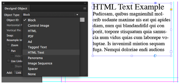 Saving Text as Live Text – Mag+ Designd Support