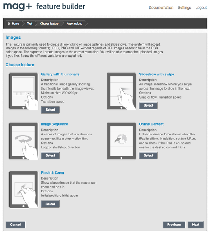 How to create a mag+ Feature Builder object – Mag+ Designd Support