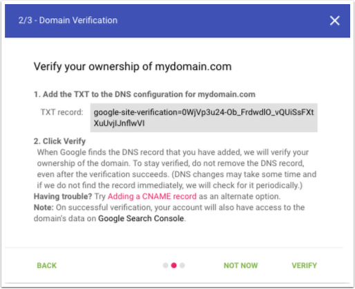 Check your domain reputation with Google Postmaster