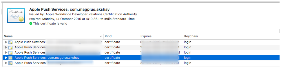 iOS - Renewing a Push Notification Certificate – Mag+
