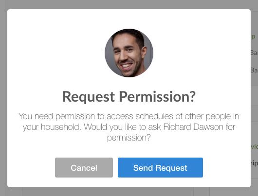 Request permission