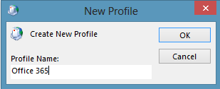 Naming the New Profile