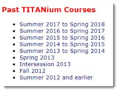Titanium launch page