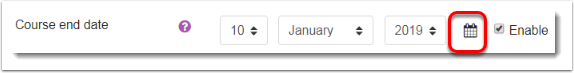 Calendar icon selected (2)