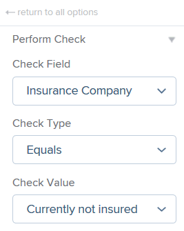 Perform Check Functionality – PX Knowledge Base