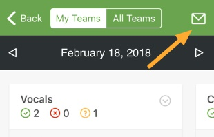 Teams screen