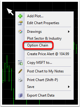 1. Click the Add Plot to Chart button.