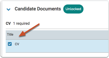 Click the boxes at the left of the documents to select multiple files