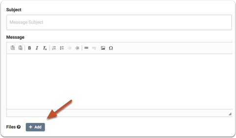 You can attach files that may be useful for the evaluator