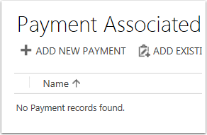 Click + Add New Payment