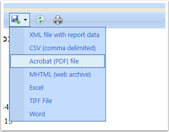 Export the Report from CRM.