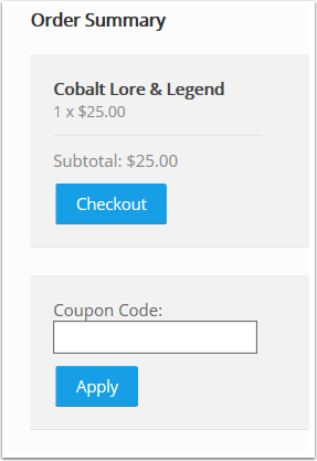 Apply A Coupon in the Payment Wizard