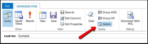 Edit or Remove Selected Criteria