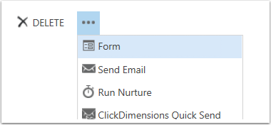 From the Entity Click More Options and Form