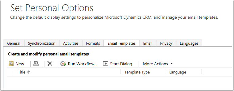 Click the Email Templates Tab and you'll find that it is set up exactly like the system emails section.
