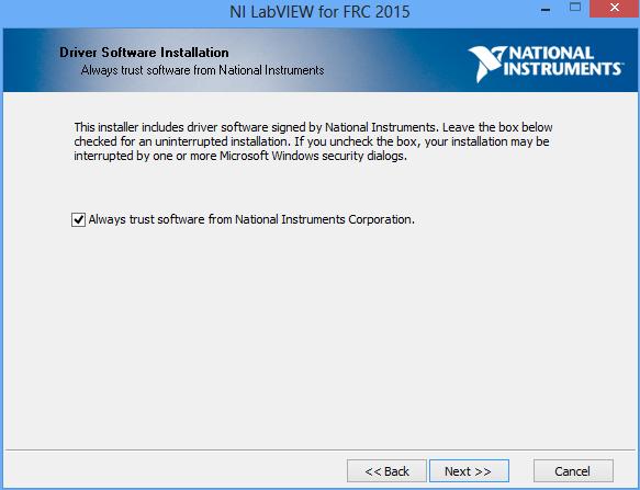 Driver Software Installation