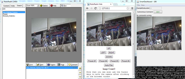 View the RoboRealm image