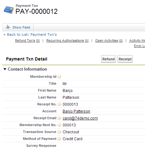 how to see paypal transactions