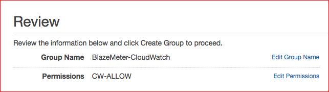 Setup AWS IAM – BlazeMeter