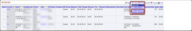 1. Invoices