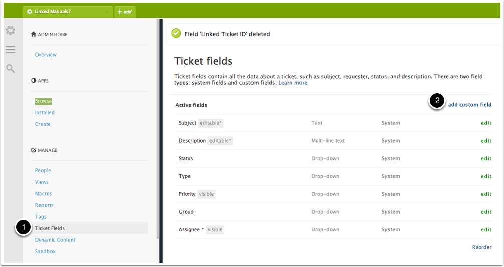 The Zendesk Linked Ticket App - How to install and use it