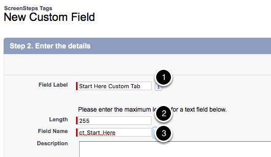 Set Field Properties