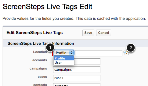 Assign the User or Profile