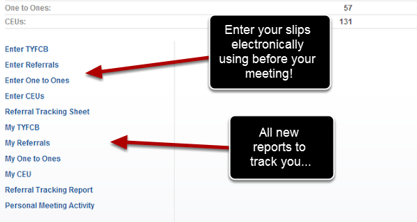 Enter your slips electronically and follow your activity with all new reports!