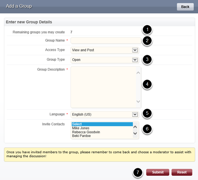 Configure Your Group
