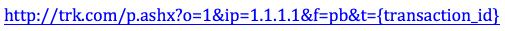 The Postback URL