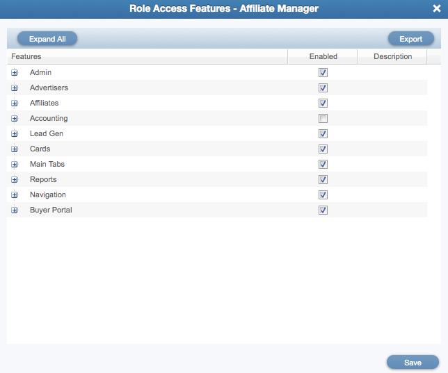 Roles Access