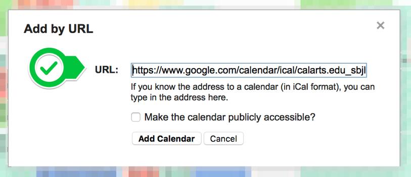 Choose Your Calendar