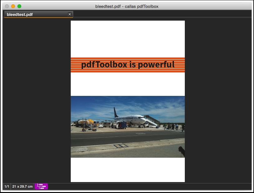 Öffnen Sie ein PDF in pdfToolbox und wenden Sie das Fixup darauf an.
