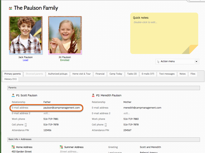 Reset the Parent Dashboard Password Manually