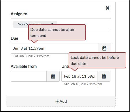 View Date Error